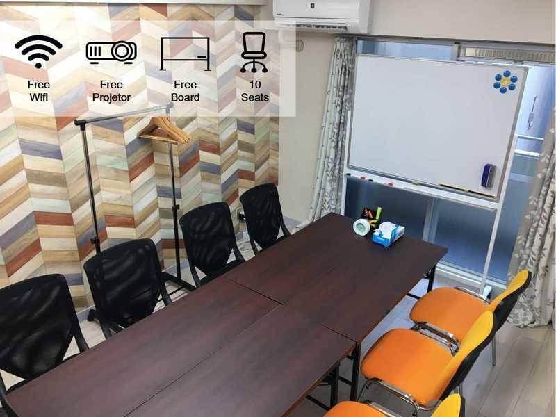 【New Open横浜駅4分】超好立地にある会議室 80インチスワイドクリーン 無料インターネット付き