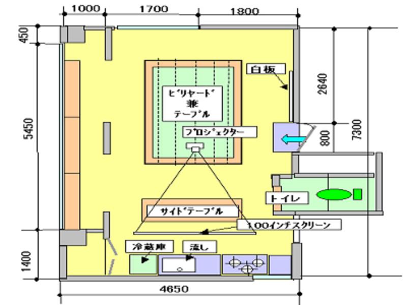 HOPIA 4FA レンタル ルーム(10:00~18:00)