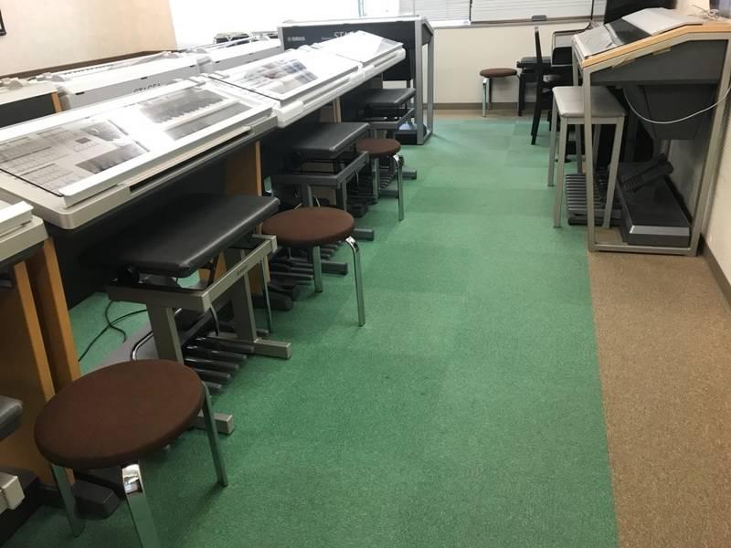 JR「弁天町」・大阪メトロ「弁天町」直結 ヤマハの音楽練習室 Lesson Room D10