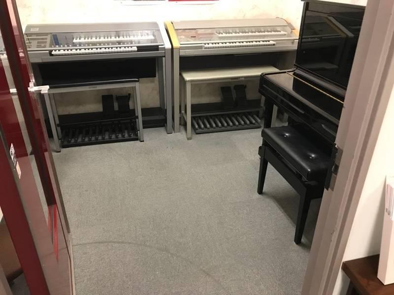 JR「弁天町」・大阪メトロ「弁天町」直結 ヤマハの音楽練習室 Lesson Room F2