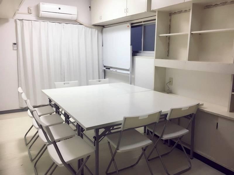 [恵比寿5分代官山2分]WiFi無料☆白い個室☆シンプルお手軽☆静かなヴィンテージマンションの一室☆コンビニ目の前☆多目的利用。