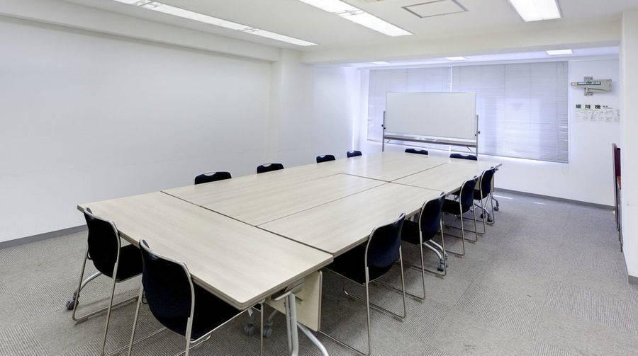 【銀座】アクセス抜群、落ち着いた雰囲気の会議室で会議をしませんか?/6階B会議室(銀座会議室三丁目)の写真