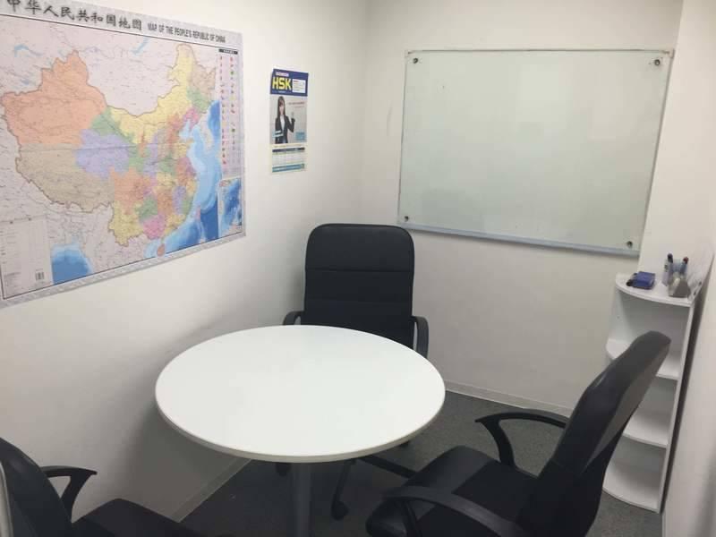 神田4分 ショーバ中国語センター 三人部屋