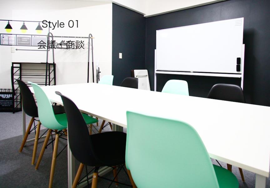 <モダン会議室>⭐️NEW⭐️名駅徒歩2分!最大12名収容の落ち着いた雰囲気のデザインスペース