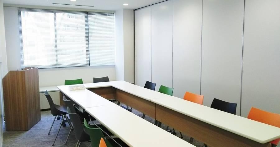 【ルームA】渋谷駅徒歩3分!最大12名収容可能<少人数セミナー・会議・勉強会に>