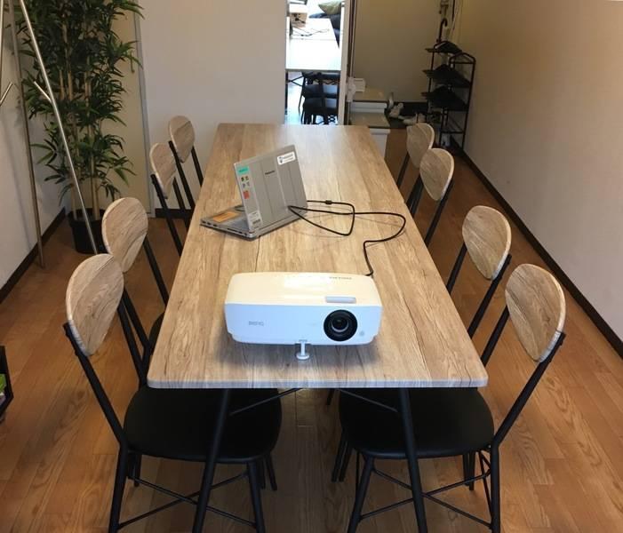 Wi-Fi・プロジェクター完備!8名【新宿三丁目】駅3分のアクセスも良好レンタルスペース新宿