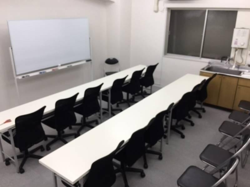 【無料WIFI】渋谷駅前1分(格安)中貸会議室D