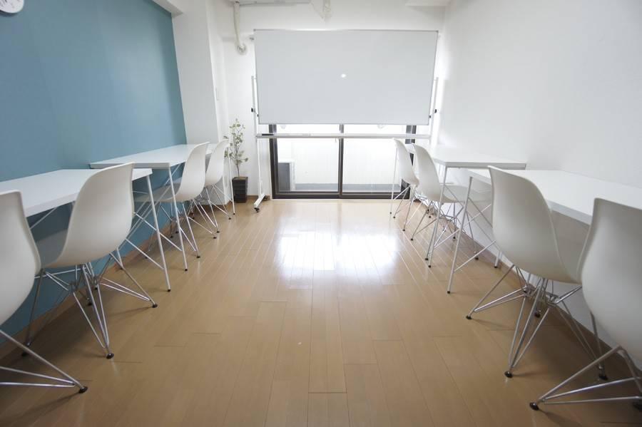 <新宿三丁目会議室>【新宿三丁目駅徒歩1分】WIFI/プロジェクター・ゆったり10名・完全個室