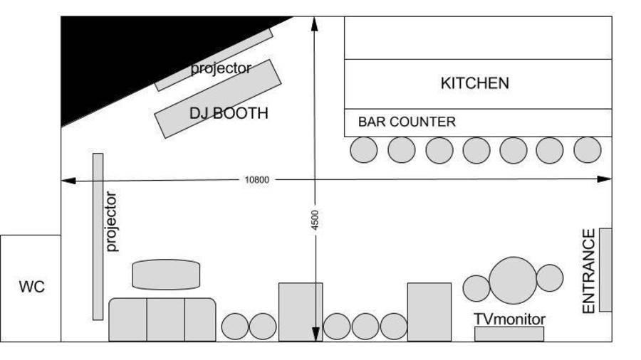 明大前 レンタルスペース Cafe Bar LIVRE