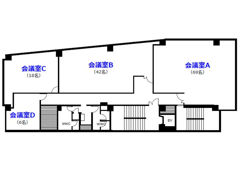 【田町・三田】「田町徳栄ビル・新館」会議室D 【5/15(水)まで、室料半額!】