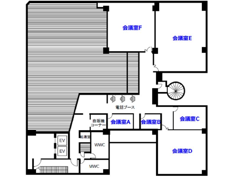 【銀座・有楽町】「ヒューリック銀座ビル」会議室B【モニター無料】