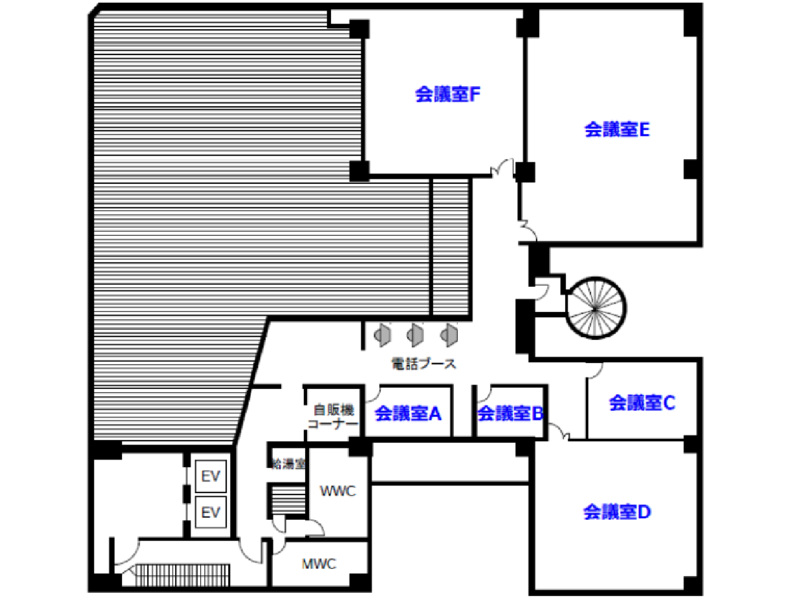 【銀座・有楽町】「ヒューリック銀座ビル」会議室A【モニター無料】