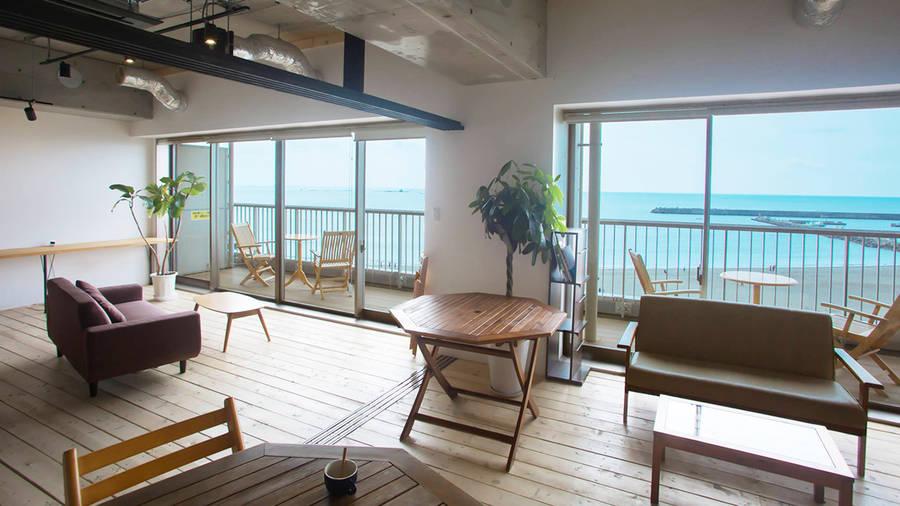 カッシーノ(湘南茅ヶ崎)海辺のレンタルスペースの写真