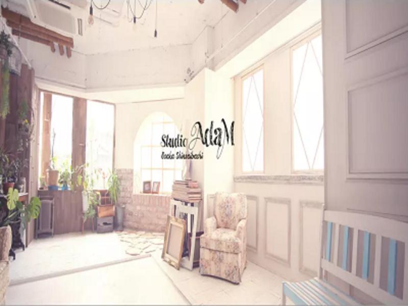 [時間単位]大阪心斎橋筋商店街内にある自然光の使えるハウススタジオ・スタジオアダムの写真