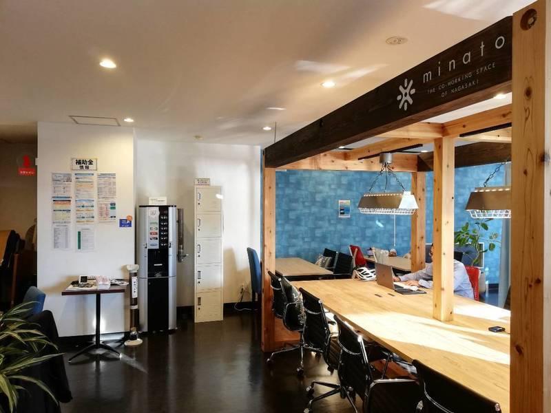 【JR長崎駅から徒歩2分のミナト】会議スペース・10名タイプ(会議、勉強会、打ち合わせに!電源、Wi-Fi、プロジェクター、ホワイトボードあり)