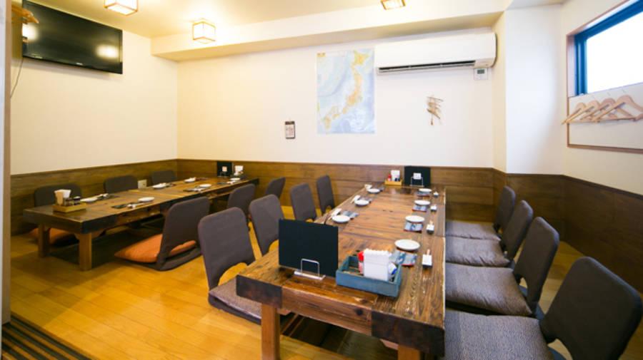 神楽坂 居酒屋個室 会議室