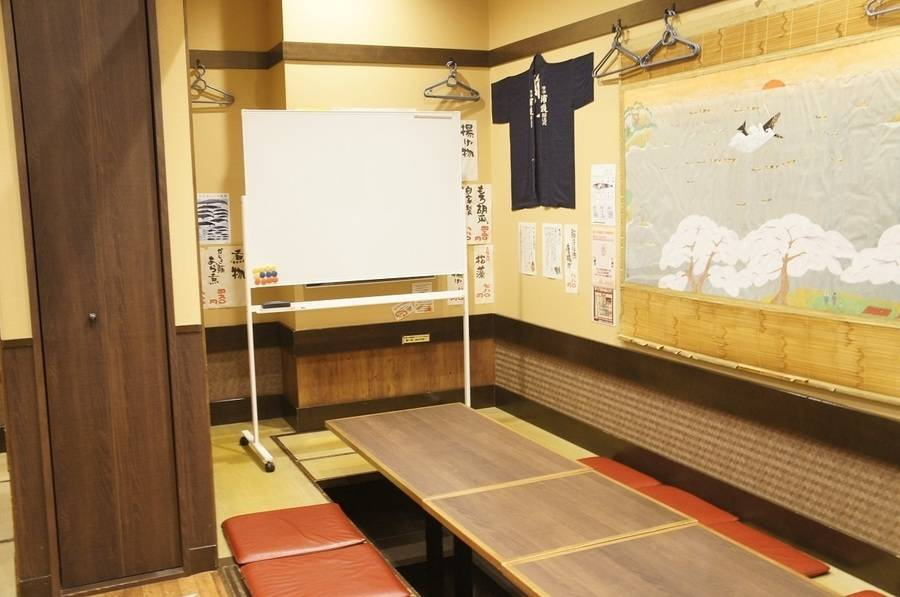 【新宿】1名~4名様向け/少人数での打ち合わせ・会議・研修・懇親会に/無料WiFi完備 『新宿 樽一本店』