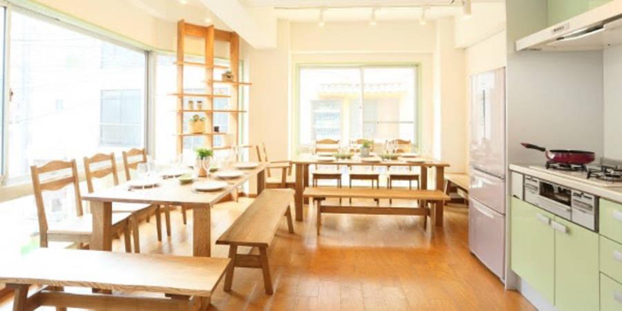 【四谷三丁目】駅徒歩2分!便利なキッチン付きレンタルスペース♪おしゃれで機能的です
