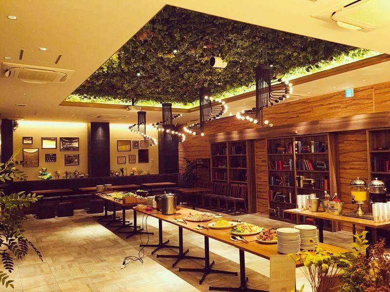【南森町駅徒歩3分 天満駅徒歩8分】Garden Lounge 完全貸切、着席60名、立食100名、各種パーティー、レセプション、結婚式2次会