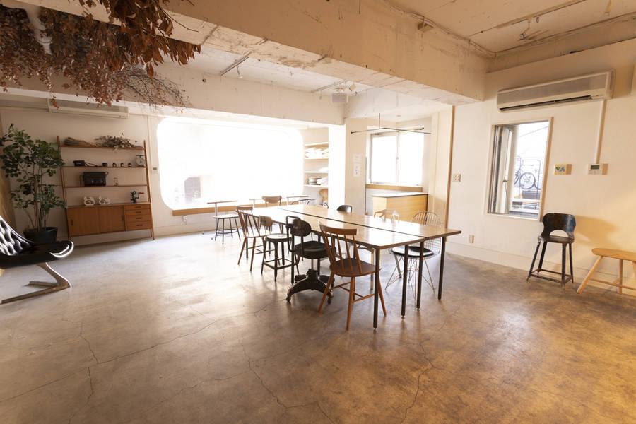 原宿駅前 本格的キッチン付き TABLE Gallery