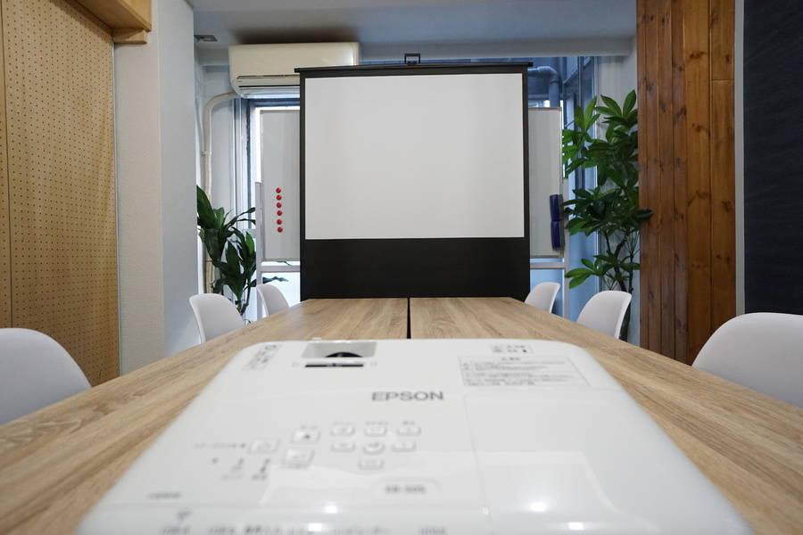 <DECO会議室>⭐️20名収容⭐東京駅より徒歩5分♪wifi/ホワイトボード/プロジェクタ無料