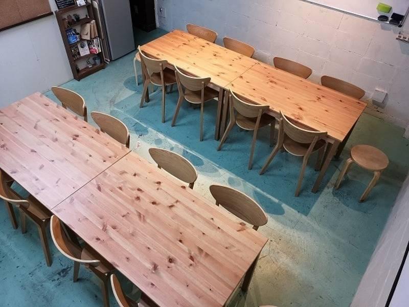池袋/会議室/パーティー/プロジェクター/ホワイトボード/キッチン/365日24時間/ボードゲーム/なないろスペース