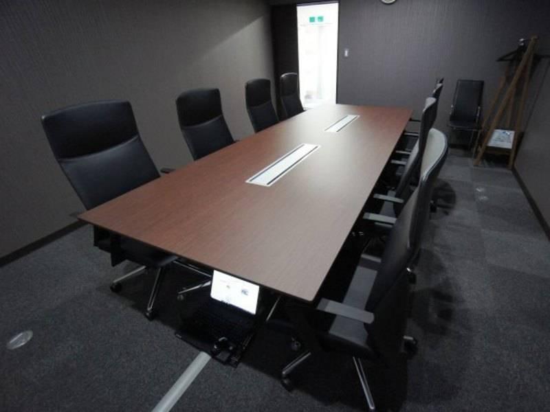【名古屋駅すぐ!】名古屋会議室 名古屋VIP貸し会議室名古屋駅前店 グローバル会議室9C【8名収容可能。商談や面接におすすめ、アクセス良好な貸し会議】