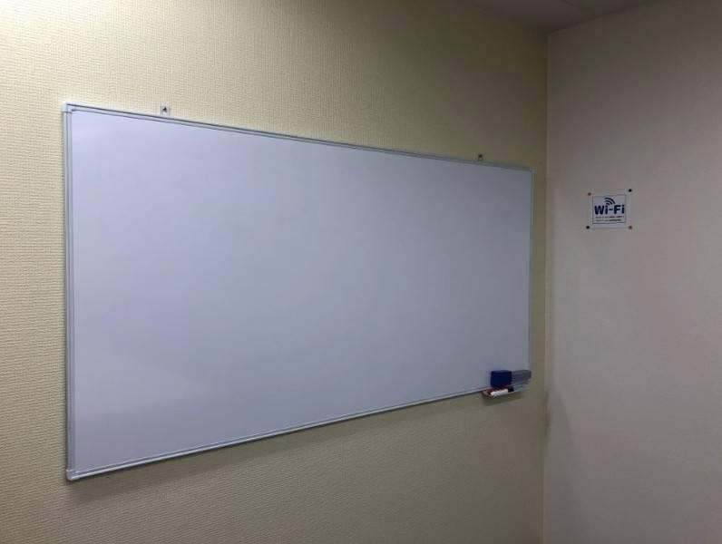 谷町四丁目オフィス8名用会議室#完全個室#高速インターネット#Wi-Fi完備#ホワイトボード#テレワーク#WEB会議