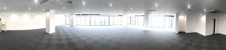 福岡博多に新登場、株式会社Zero-Tenがプロデュースするコワーキングスペース・シェアオフィス「The Company中洲川端」(地下鉄中洲川端駅徒歩1分)のオープンスペース(ワンフロア5F85坪)を期間限定でレンタルできます!