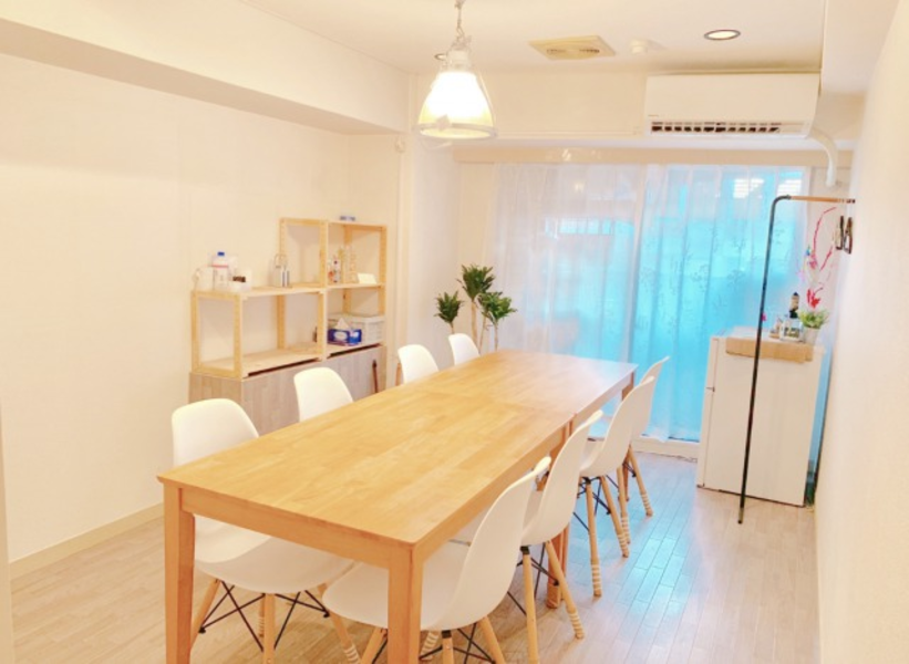 ★☆渋谷タワレコすぐ!☆★<快適な個室>嬉しい禁煙♪冷蔵庫完備♪1Fがコンビニ&近隣にはテイクアウトOKなお店もいっぱい♪会議やセミナーはもちろんアットホームなオフ会やパーティーにも◎