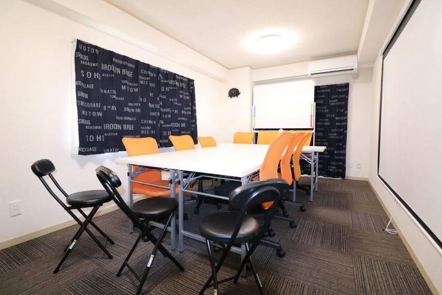 しゃれとんしゃあ♪気楽に会議室♪新規オープン!!超便利!!一度使ってみんね♪福岡天神・大名・博多・お気軽会議室 ROBIN