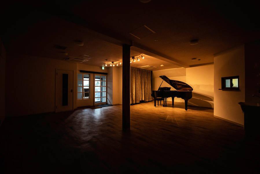 相模原レンタルスタジオKUNST(クンスト) Gスタジオ(グランドピアノ付きレンタルスタジオ・サロンコンサートホール)※日中予約